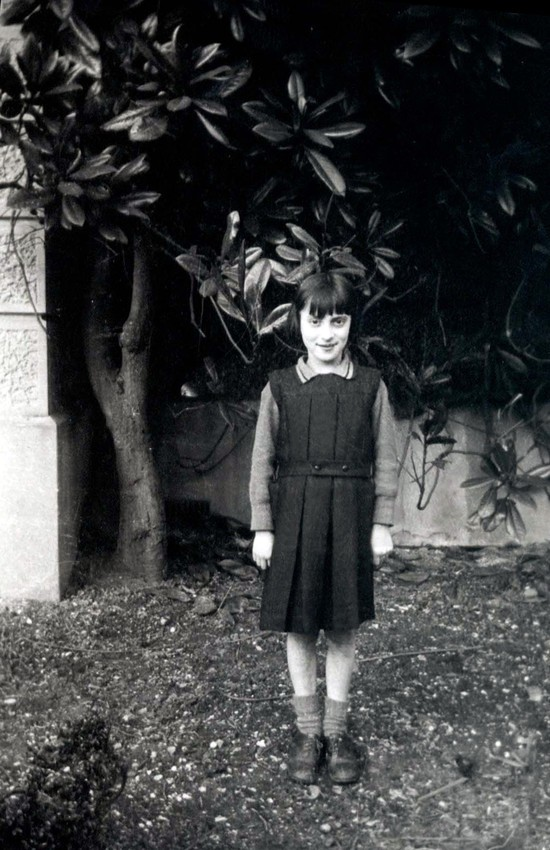 A young Spanish child that was brought to the UK during the Civil War