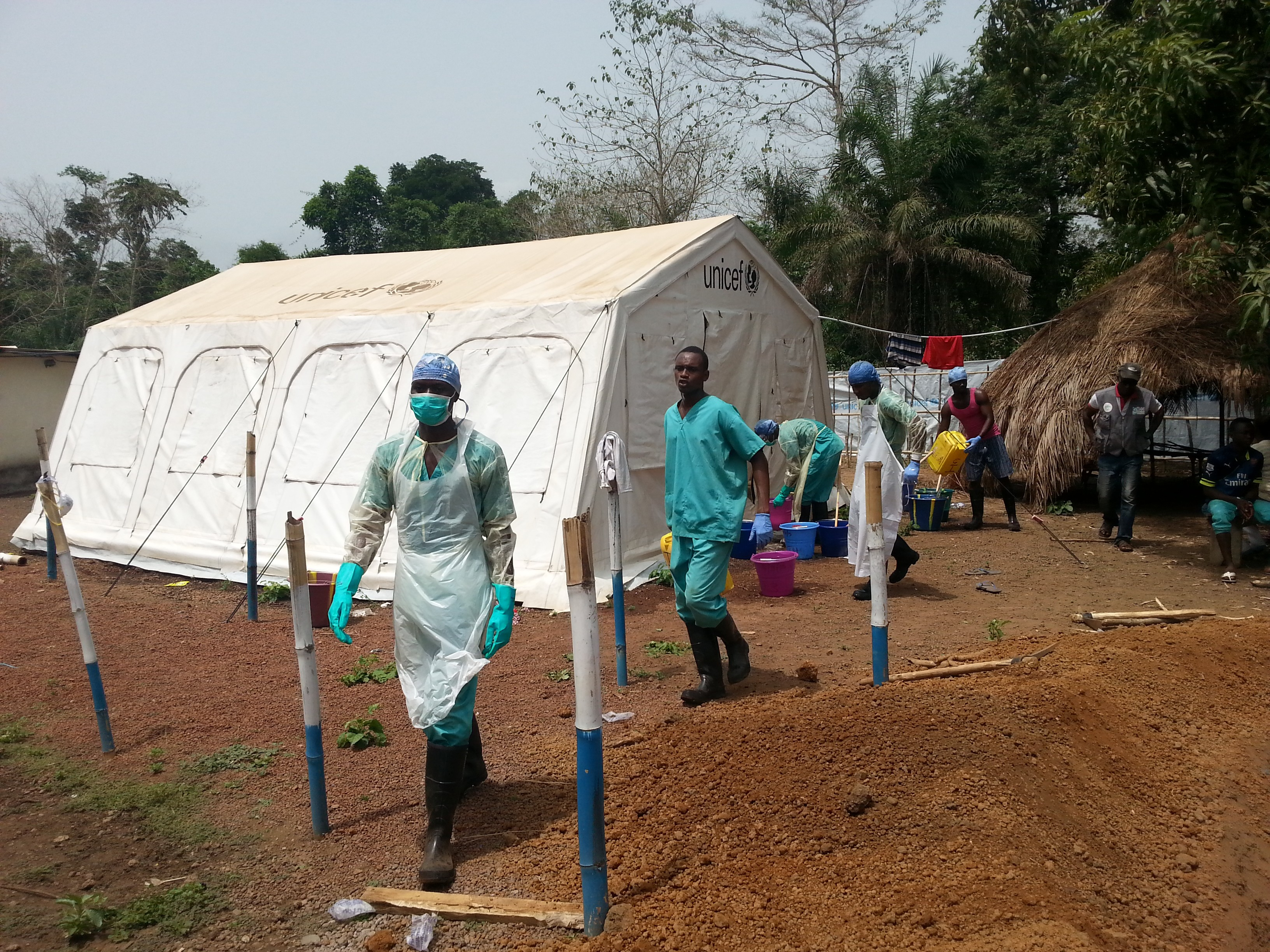 Ebola response is not over