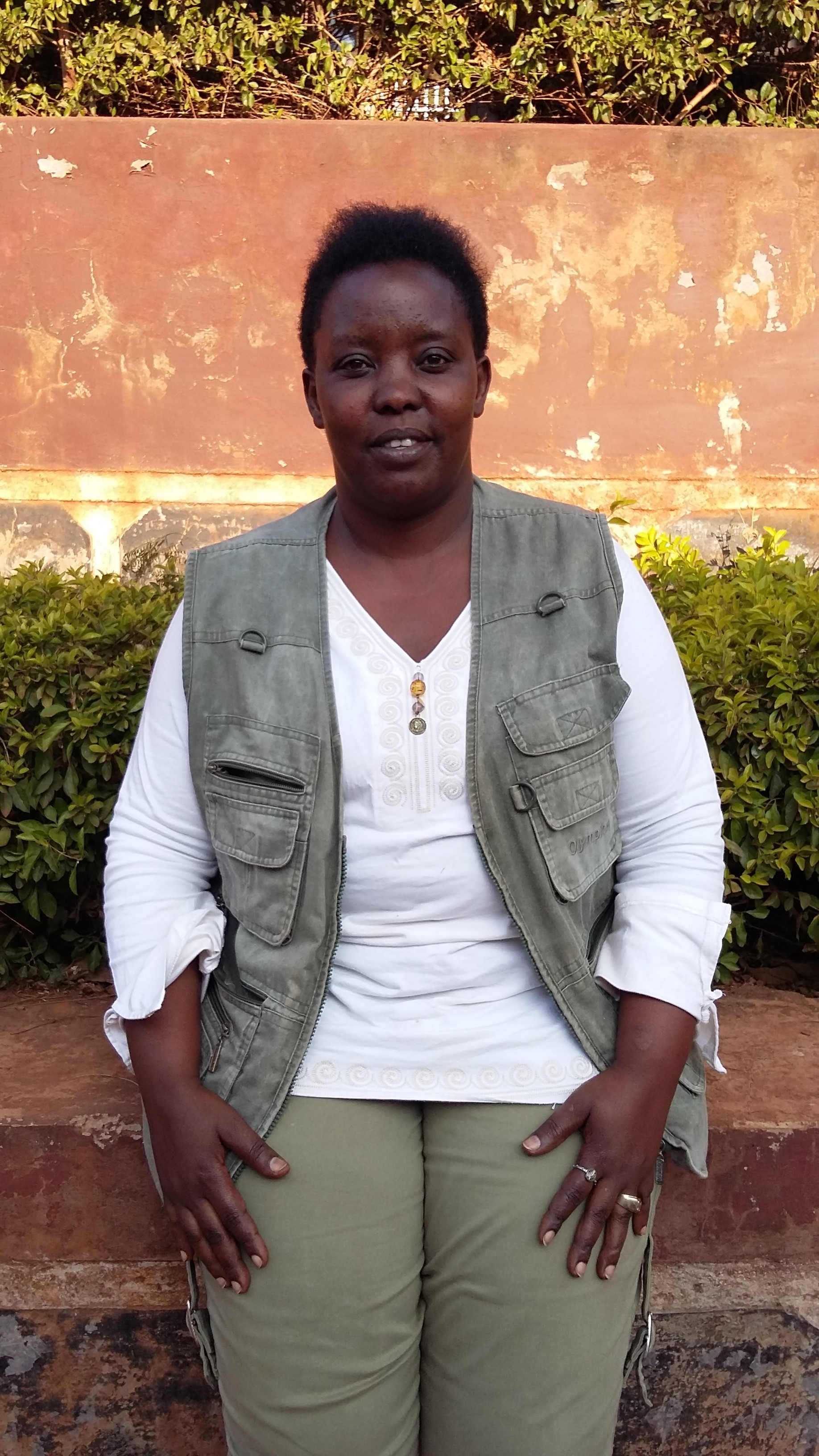 Vivan, a data coordinator in our Tanzania office