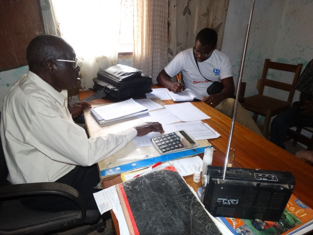 A headmaster in Liberia is worried about the financial constraints of reopening the school
