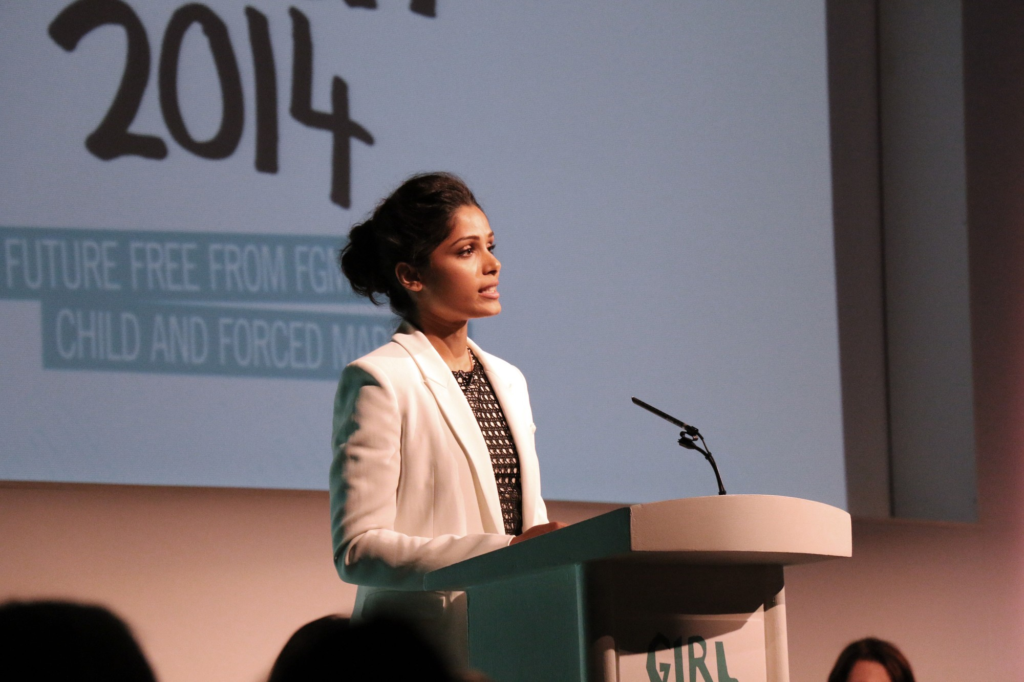 Actress and global BIAAG ambassador Freida Pinto