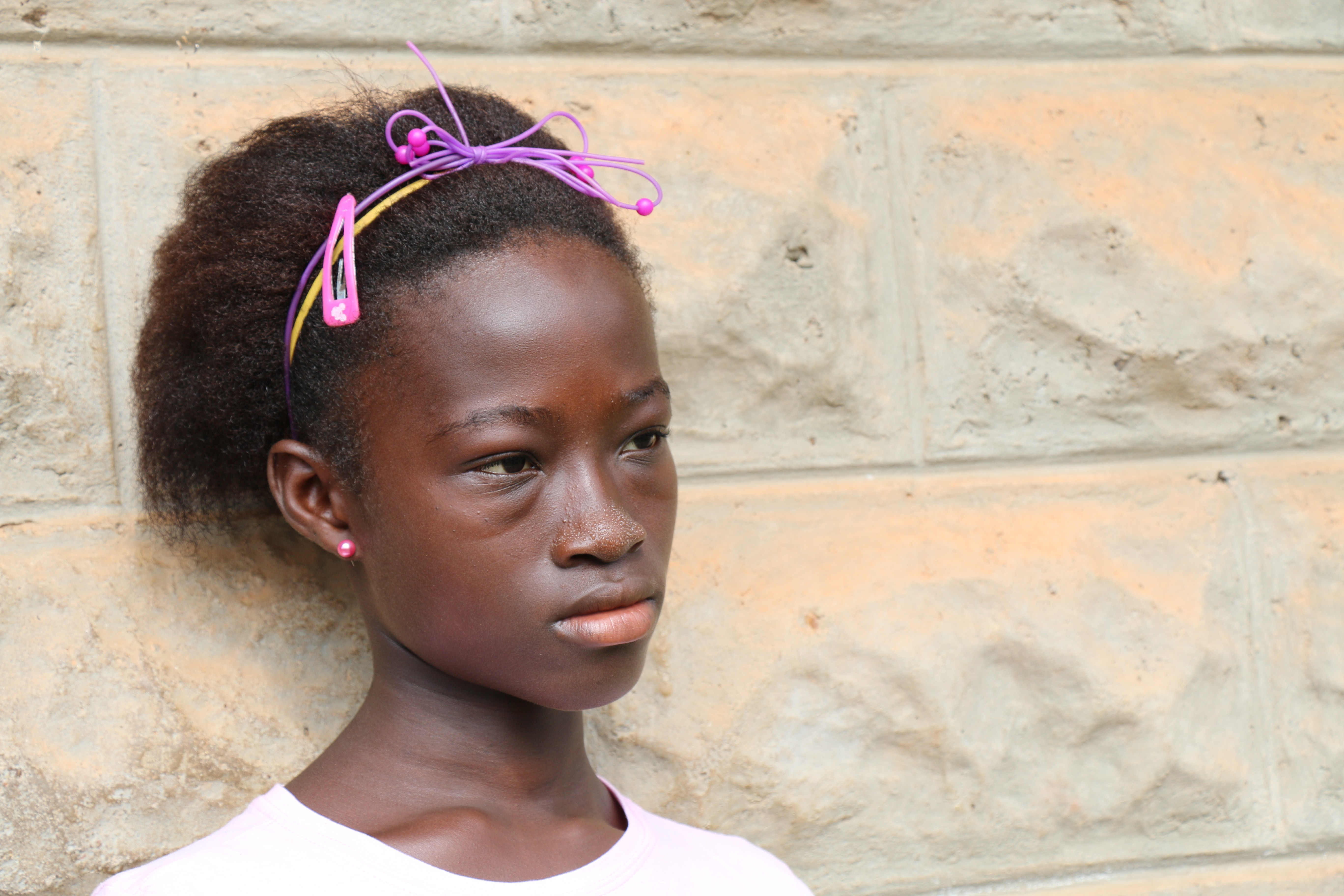 Ijiatu is orphaned after her parents died from Ebola