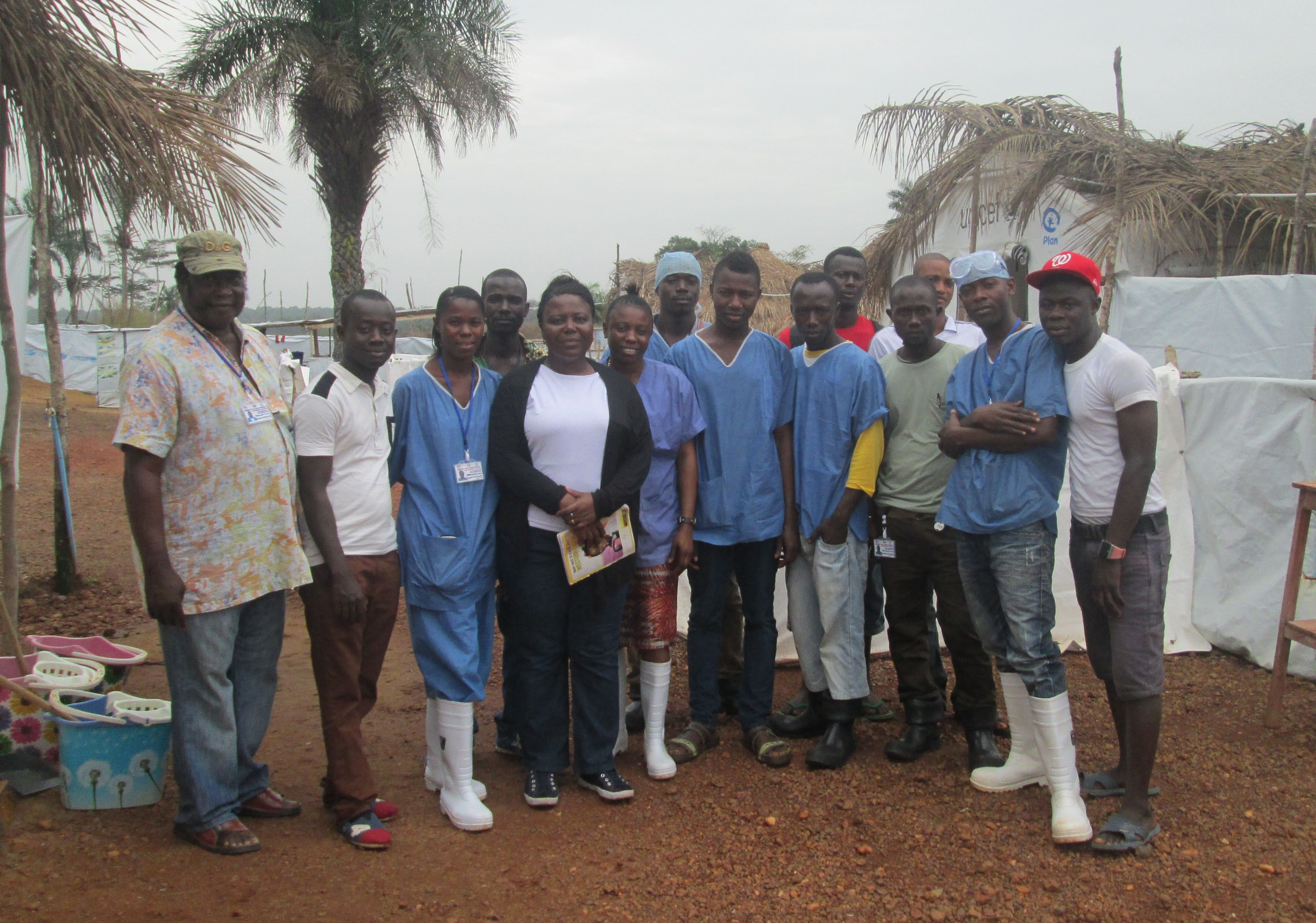 Plan partners in Sierra Leone