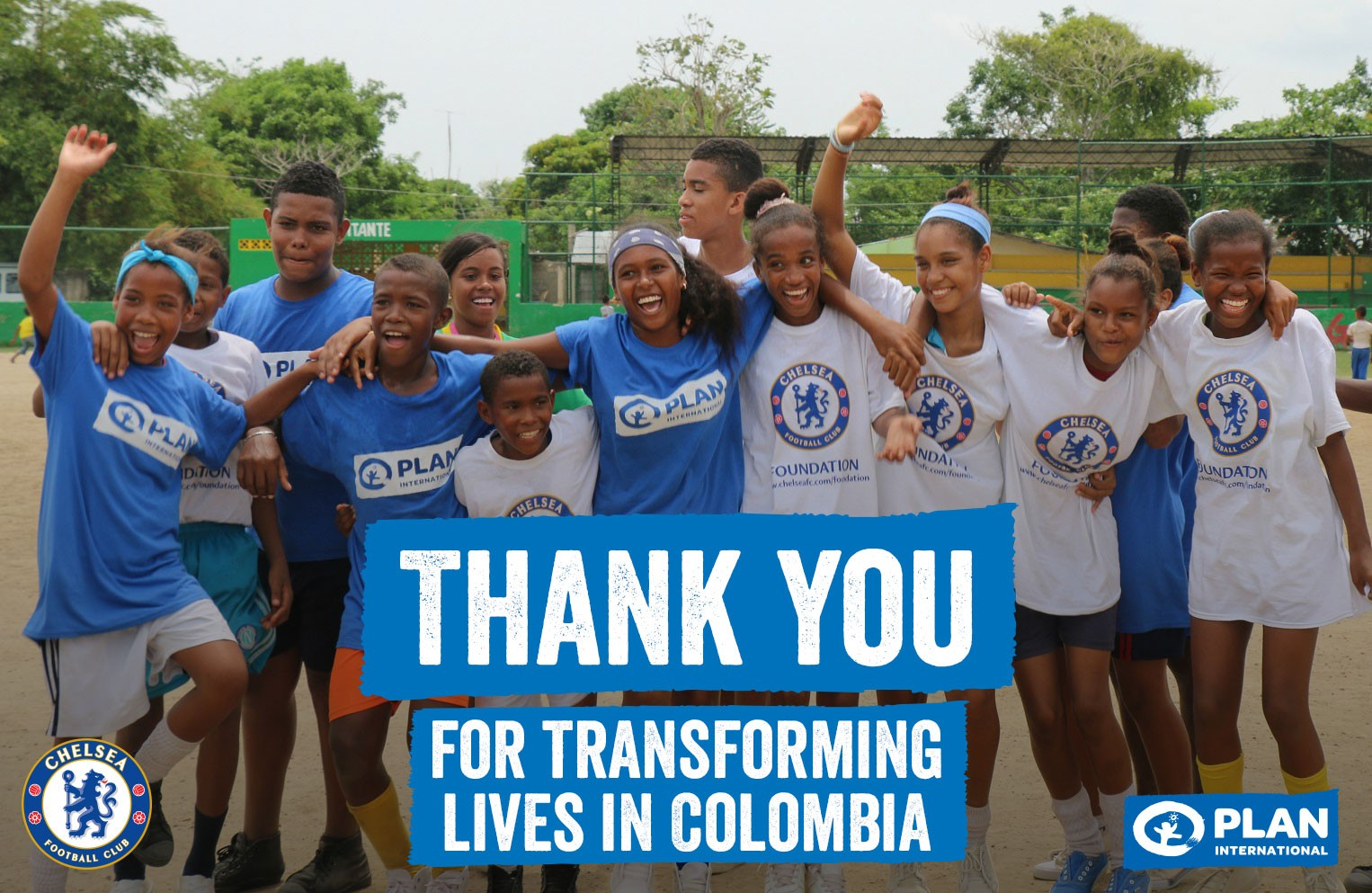 Thanks to the Champions of change participants in supporting our work in Colombia