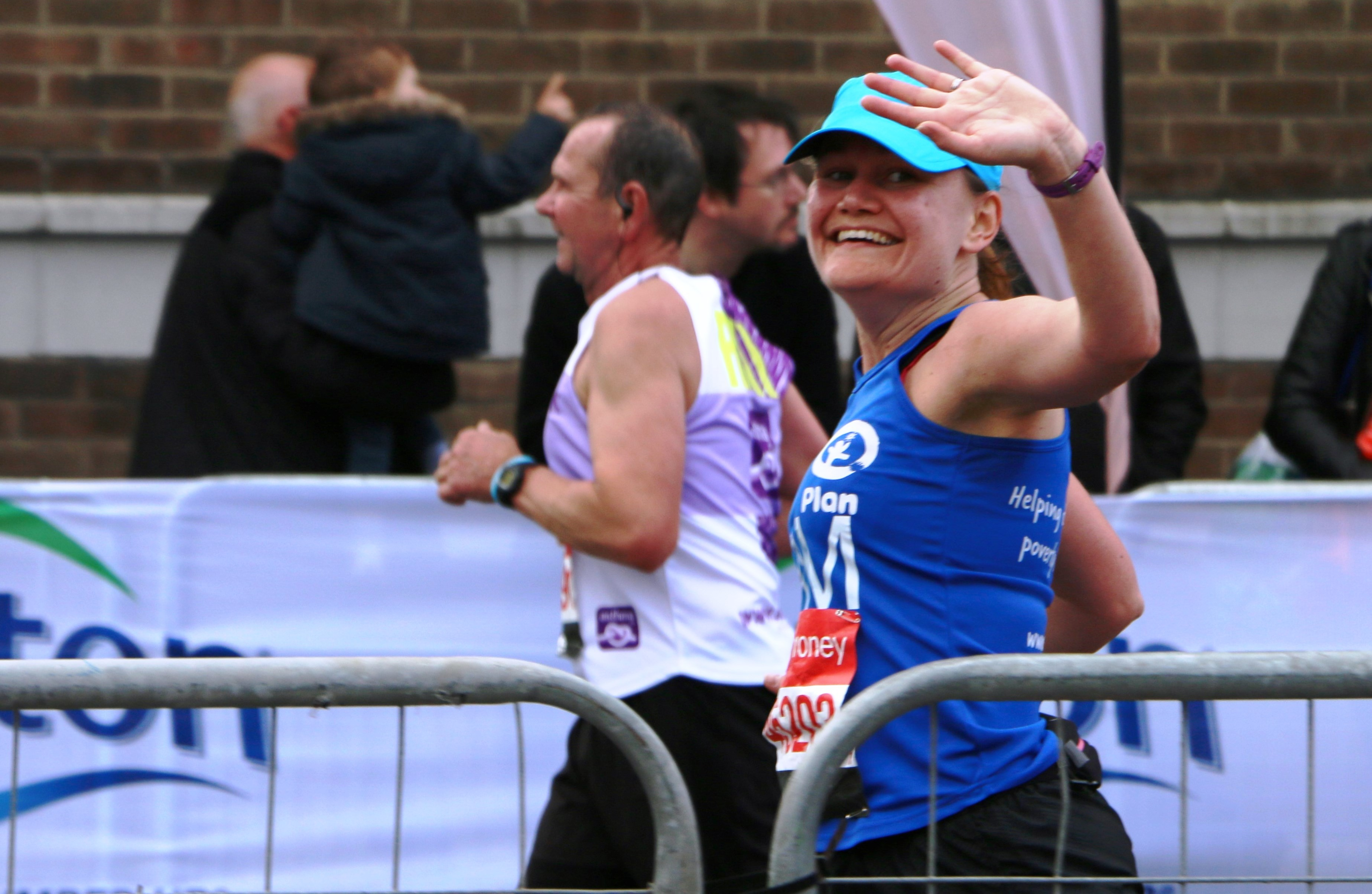 Tamsin, Plan International UK marathon runner