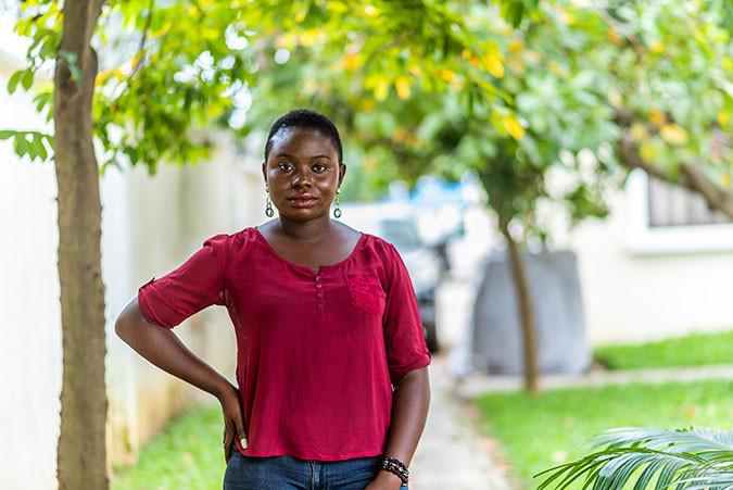 Youth advocate Tama in Nigeria
