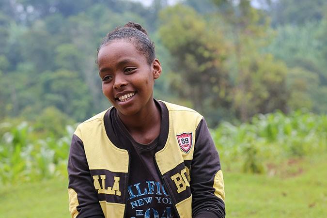 Alminesh in Ethiopia
