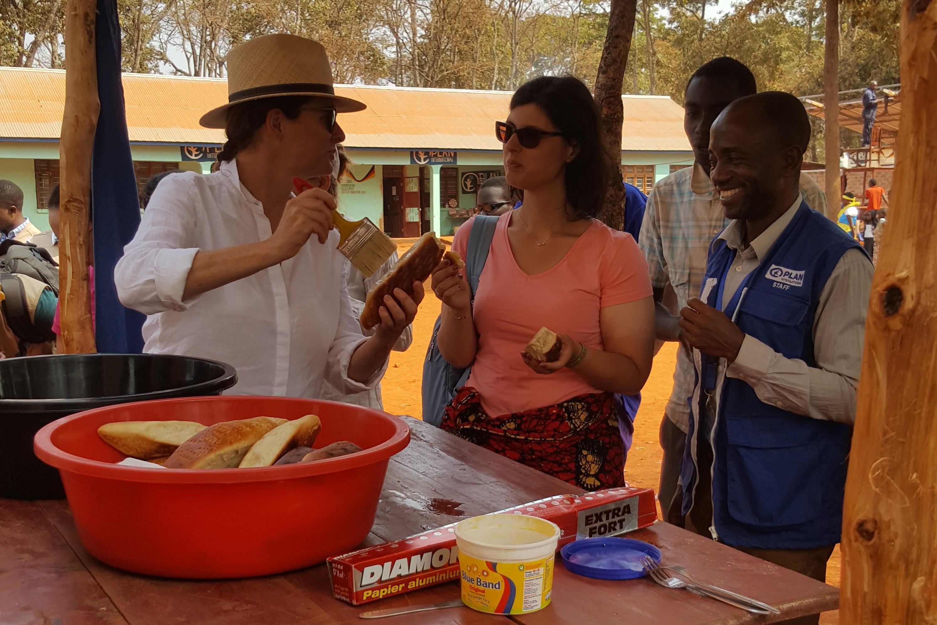 UK Members of Parliament Gillian Keegan and Layla Moran in Tanzania.