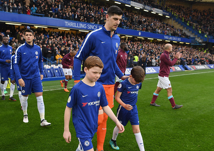 Mascots for Chelsea FC