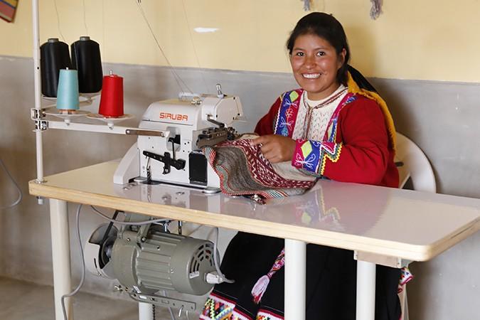 Delia, 23, in Peru
