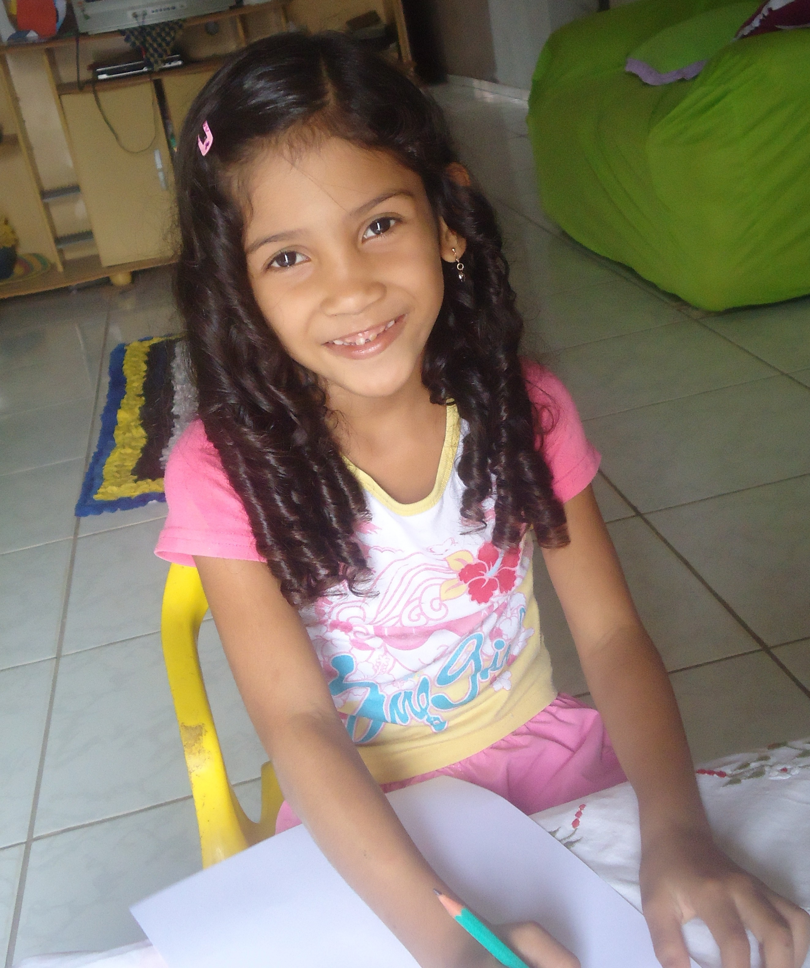 A girl from our Real Choices, Real Lives study, Brazil