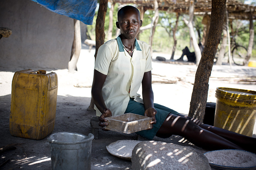 Mary, 15, South Sudan
