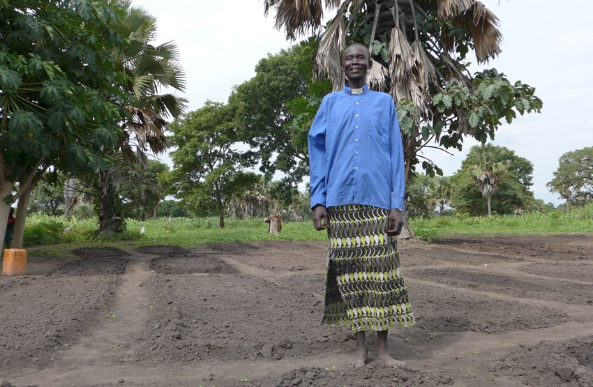Plan International have been providing seeds and tools to communities in South Sudan