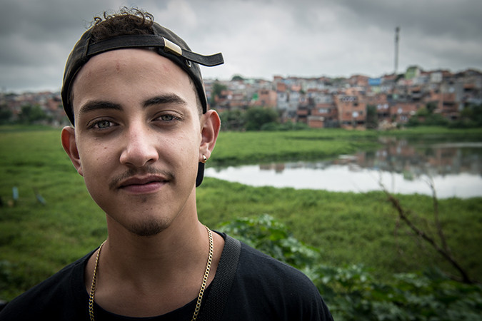 Jose, from the Young Health Programme in Brazil