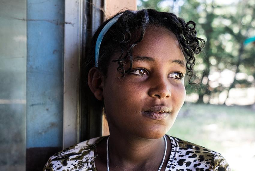 Weyinitu is a member of the Uncut Girls' Club in Ethiopia.