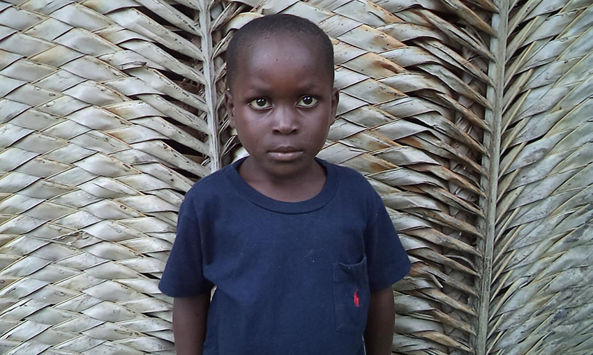 Wansite, who lives in Haiti, is sponsored by singer and actor Beverley Knight.