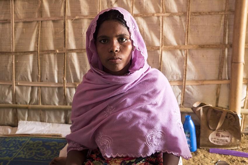 Kushida, 19, fled across the border from Myanmar seven months ago
