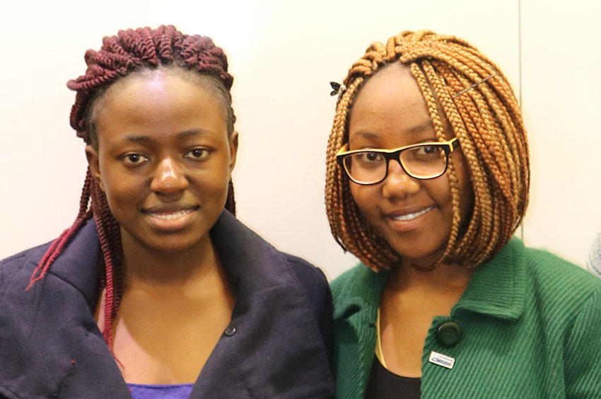 Georgina and Hope are youth advocates with Plan International Kenya.