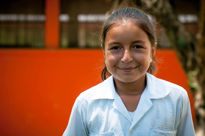 Katherine is part of our child sponsorship programme in Honduras.
