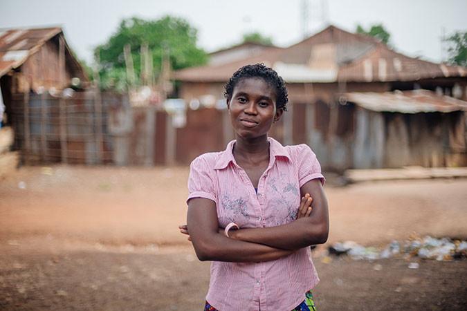 Zainab in Sierra Leone