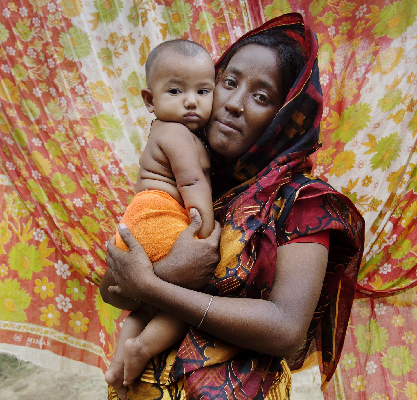 Sadia, marriage at 14 - With baby in arms