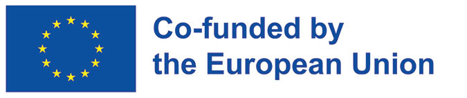 Logo saying 'Co-funded by the European Union'