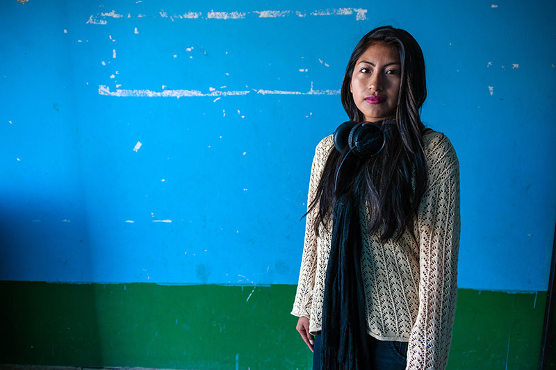 Maribel has campaigned to make cities safer for girls