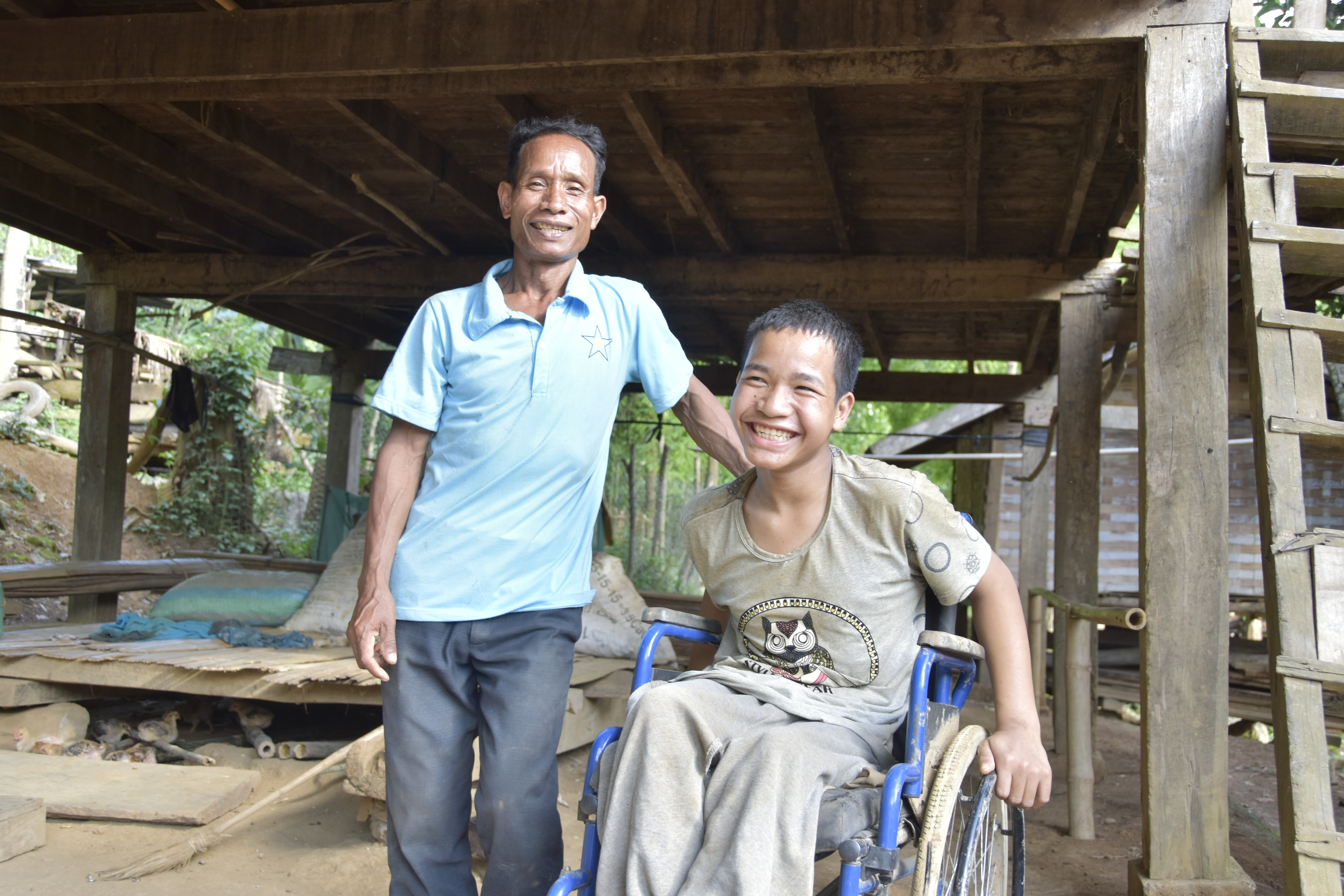 When Nak fell ill, his father Nid helped him get back into education through a Plan International programme.