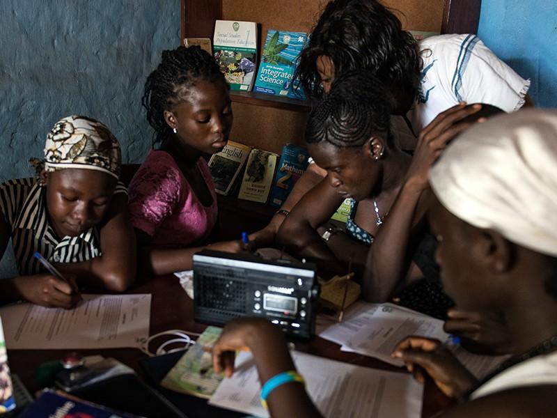 children get back to school Sierra Leone