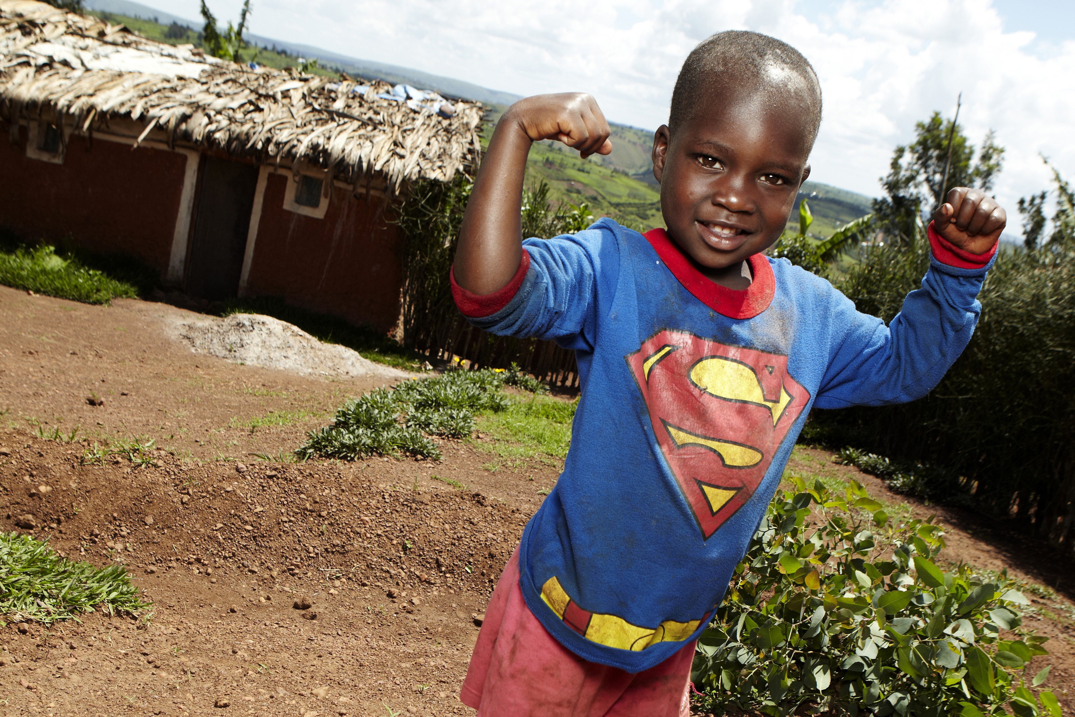 Our sponsored children tell us how to conquer the day