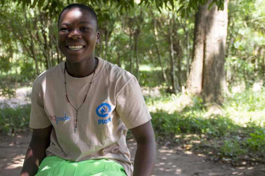 Peninah helps to end the myths around menstruation in her community