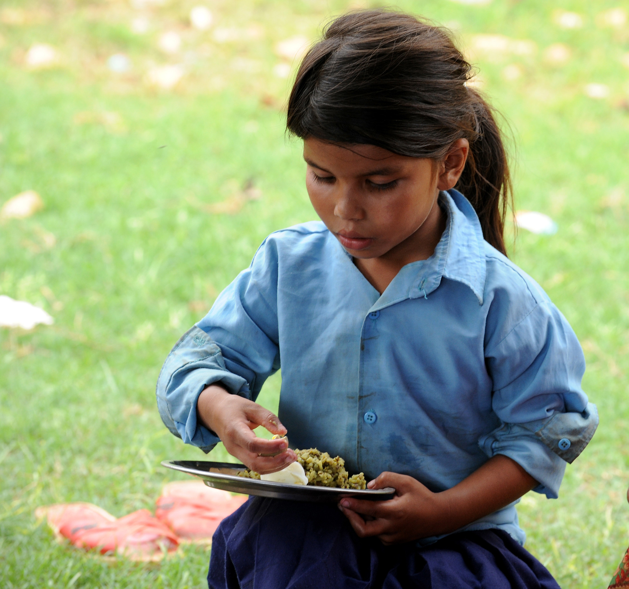 Plan International is working to improve the nutritional wellbeing of children after the Nepal earthquake