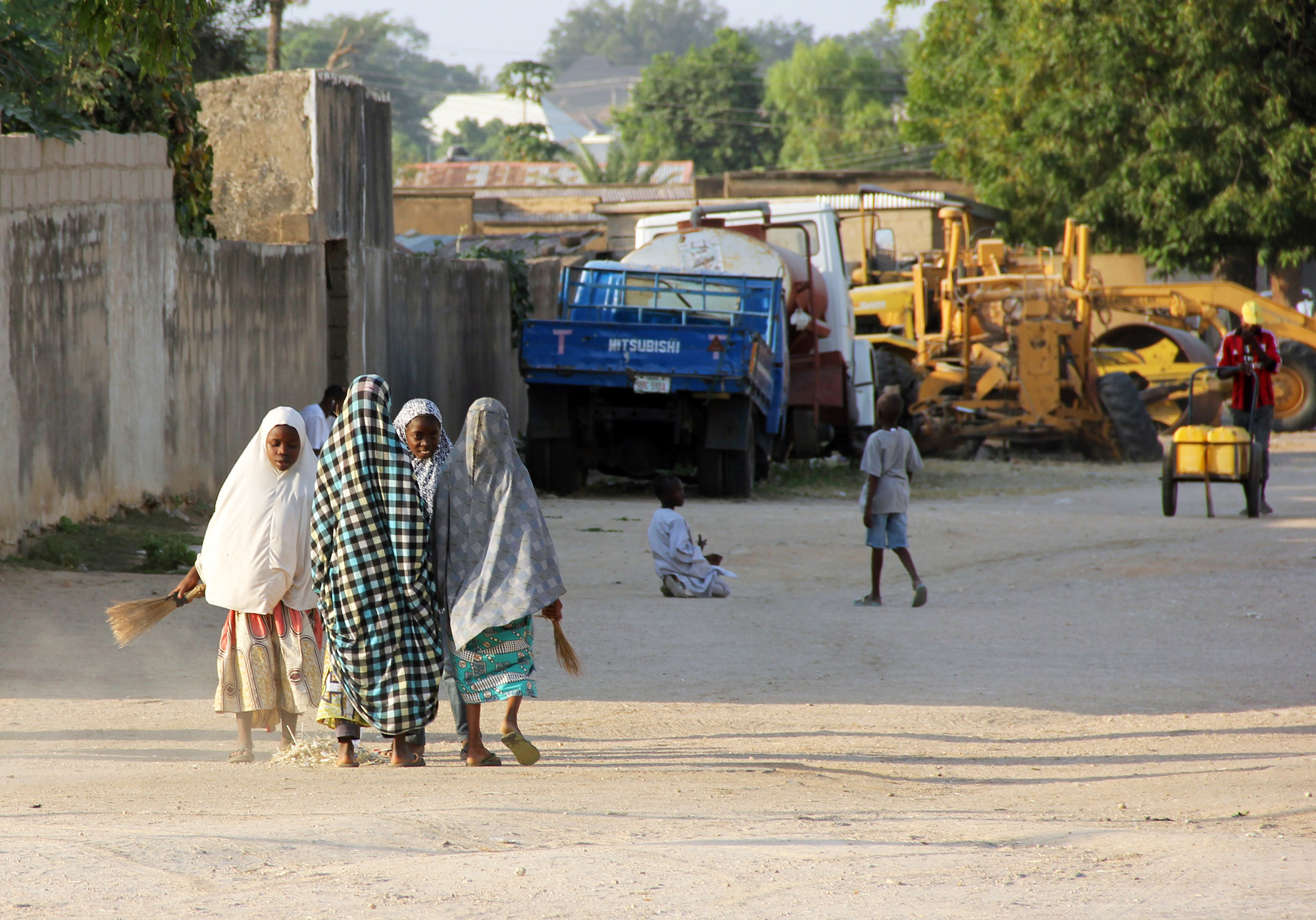We're helping women and girls who have escaped the violence of Boko Haram