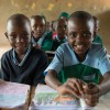 Lucia and Nzioki are thriving at school