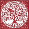 Partridge in a tree design