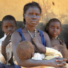 Viviana worries for her children's health in South Sudan