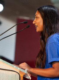 Keya, a youth advisory panel member Plan UK