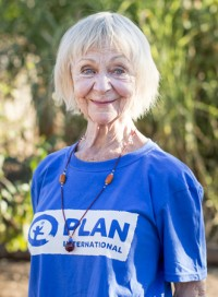 Sheila Reid is a Plan ambassador and actor, and star of the sitcom Benidorm.