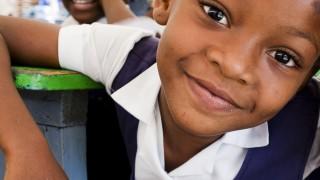 Sponsored children at school