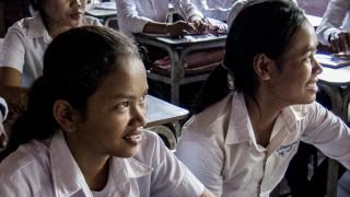 Classroom in Vietnam