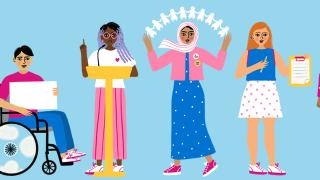 Youth Advisory Panel Illustration by Sakina