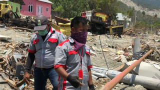 Our Emergency Response Team on the ground in Indonesia